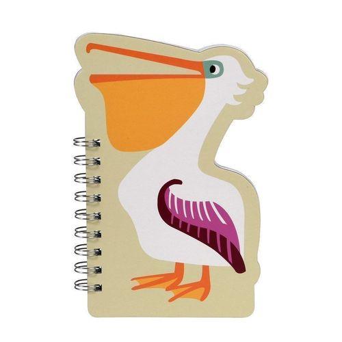 """Блокнот нелинованный """"Pelican"""", 12 х 19 см"""