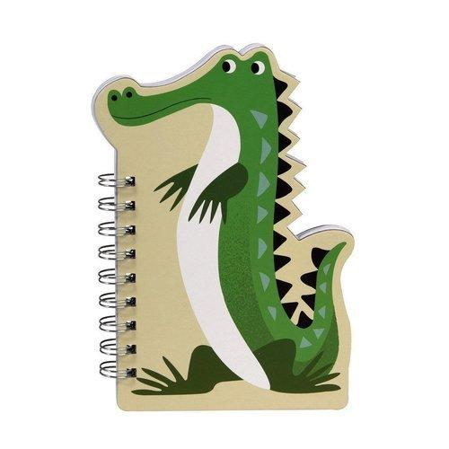 "Блокнот на спирали нелинованный ""Crocodile"""