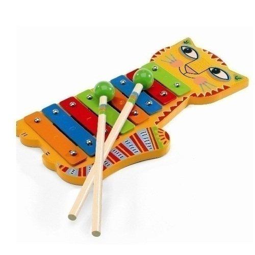 Металлофон Кот музыкальный инструмент аполлона 6 букв