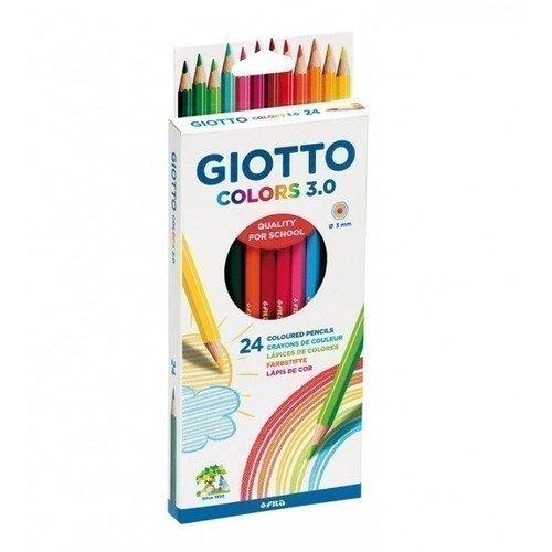 Цветные деревянные карандаши, 24 цвета giotto цветные карандаши 24 шт