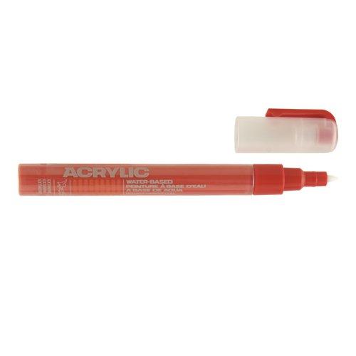 Маркер Acrylic extra fine, 0,7 мм, красный шок spirella ерш с подставкой sydney acrylic красный акрил красный nuyofsw