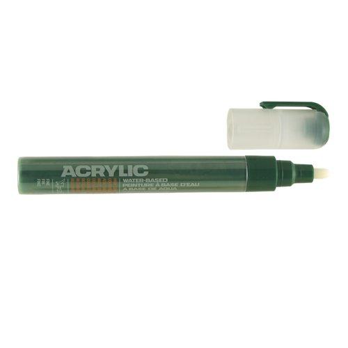 "Маркер ""Acrylic fine"", 2 мм, темно-зеленый шок"