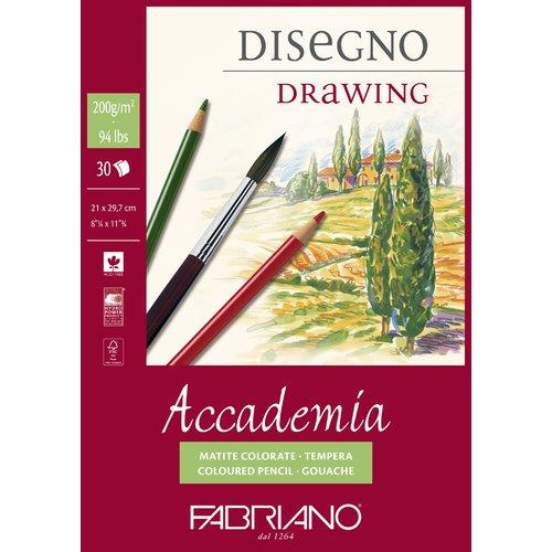 "Блокнот для эскизов на спирали ""Accademia"" А4"