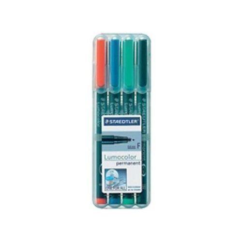 цена на Набор перманентных маркеров Lumocor F, 4 цвета