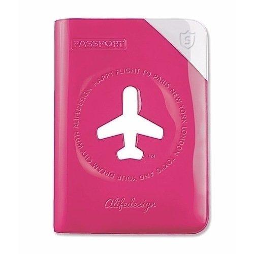 """Обложка для паспорта """"Shield"""", розовая"""