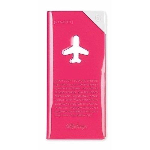 """Органайзер для путешественника """"Shield"""" HF-060 розовый"""