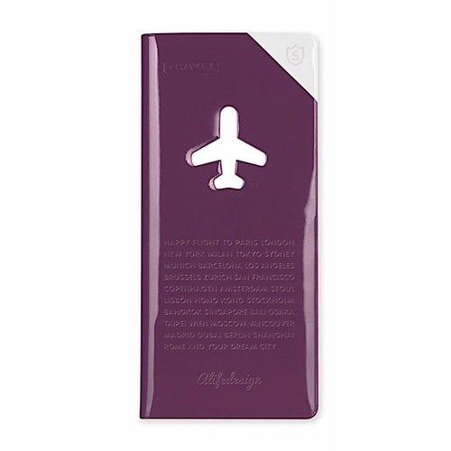 Органайзер для путешественника Shield HF-060 фиолетовый конверт путешественника матрешки на красном пвх 20 5 22см 77117