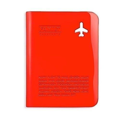 Обложка для паспорта Family, красная цена