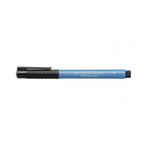 Капиллярная ручка Pitt Artist Pen Brush, темно-синяя капиллярная ручка broadpen 0 8 мм синяя