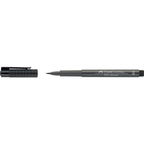 """Капиллярная ручка """"Pitt Artist Pen Soft Brush"""", теплая серая, V"""