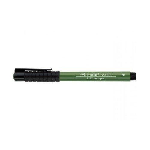 Капиллярная ручка Pitt Artist Pen Brush, оливковая chkj глубокая оливковая 42 мм