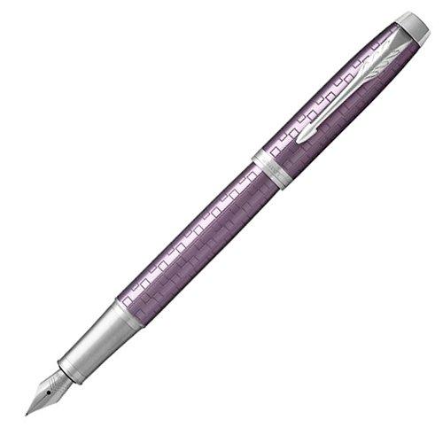 Ручка перьевая IM Premium Dark Violet CT, фиолетовая, F