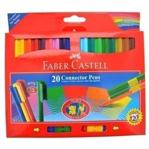 Фото - Фломастеры с клипом, 20 цветов фломастеры с клипом jumbo в картонной коробке 12 шт