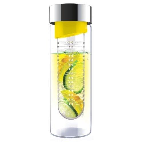 Бутылка Flavour it, 480 мл, желтая ваза бутылка цветочная стекло