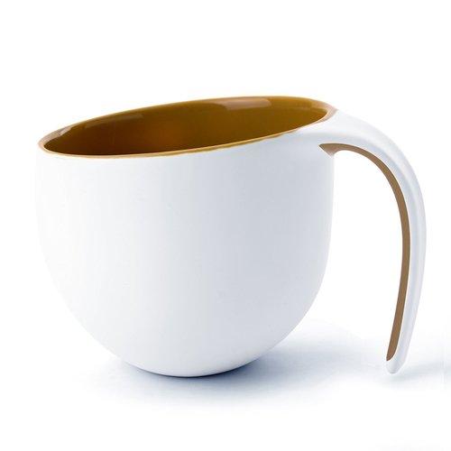 Кружка The porcelain jewel, 400 мл, коричневая цена