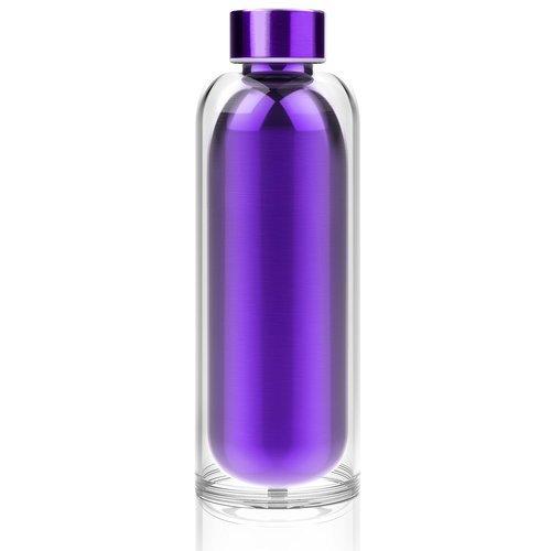 """Термобутылка """"Escape the bottle"""", 500 мл, фиолетовая"""