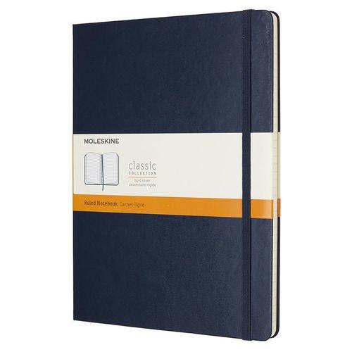 """Блокнот """"Classic"""" XLarge, 96 листов, в линейку, синий цена и фото"""