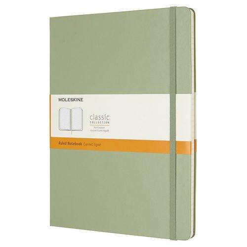Блокнот Classic XLarge, 96 листов, в линейку, зеленый bg тетрадь отличная 12 листов в косую линейку цвет зеленый 15085