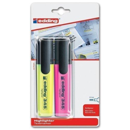 """Набор маркеров """"Edding 345"""", заправляемых, 2 цвета цены"""