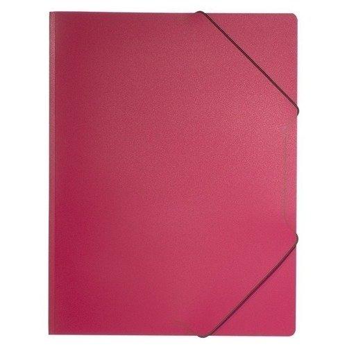 Пластиковая папка на резинке A4 красная папка короб бюрократ ba25 05grn цвет зеленый на резинке 816202