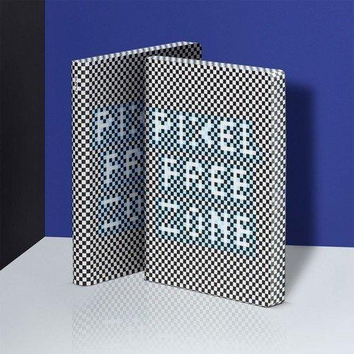 Блокнот большой Pixel Free Zone самокат trolo pixel