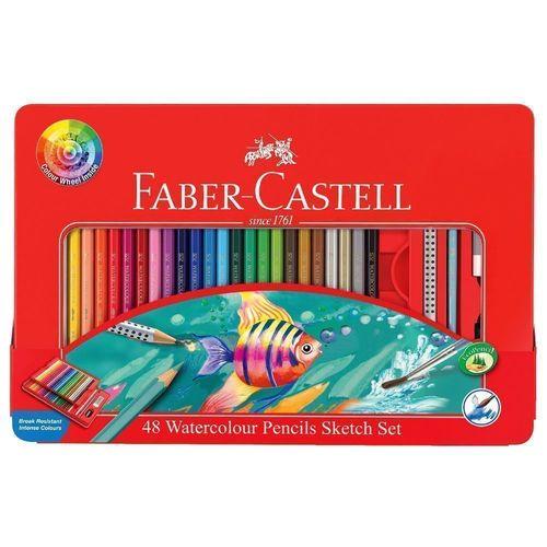 Подарочный набор акварельных цветных карандашей, 48 цветов набор карандашей акварельных mondeluz 24 цв