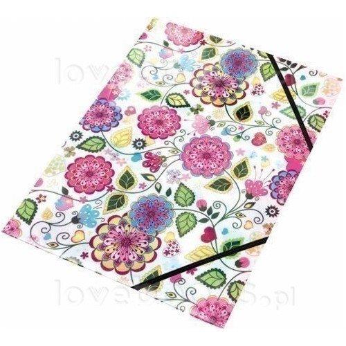 """Папка на резинке A4 """"Flowers"""" 0064-40"""