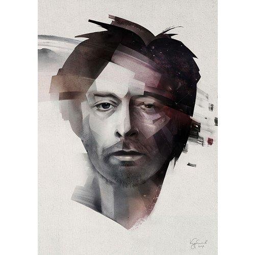 Принт Thom Yorke А3 clique v 1