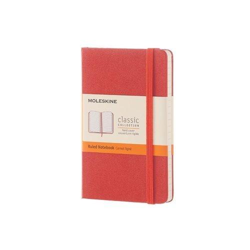 """Блокнот """"Classic"""" Pocket, 96 листов, в линейку, оранжевый цена и фото"""