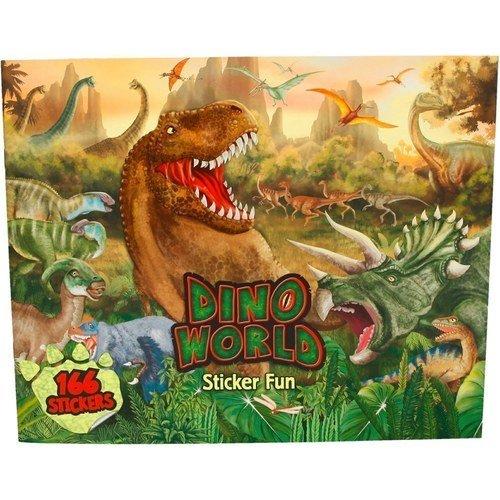 Альбом с наклейками Создай мир Динозавров создай свой мир с наклейками
