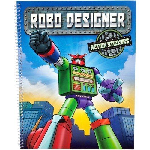 "Раскраска ""ROBO Дизайнер"" explore robo 125"