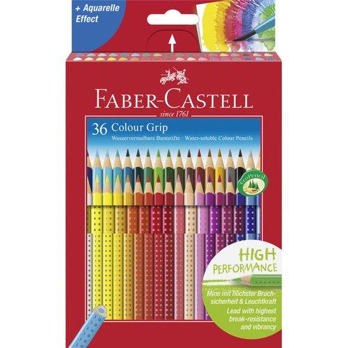 Карандаши цветные Grip 2001, 36 цветов цветные карандаши grip 2001 набор цветов в студийной кожзам коробке 36 шт