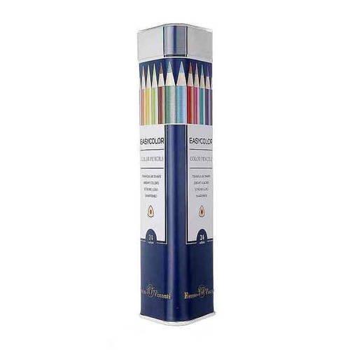 Набор карандашей Easycolor, 24 цвета пифагор набор карандашей восковых 24 цвета
