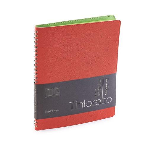 """где купить Еженедельник недатированный """"Tintoretto"""" В5 красный по лучшей цене"""