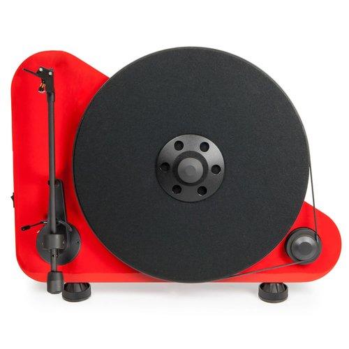Виниловый проигрыватель VT-E L OM 5e Red виниловый проигрыватель pro ject juke box e white om 5e уценённый товар