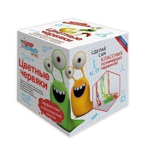 Мини-набор Цветные червяки игровой набор инновации для детей цветные червяки 817