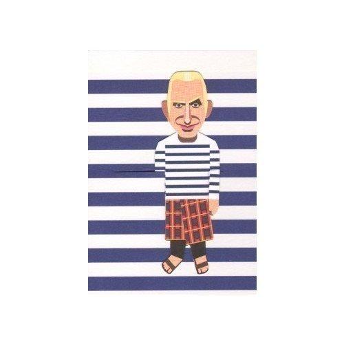 """Блокнот нелинованный """"Jean Paul Gaultier"""" А7, 25 листов"""
