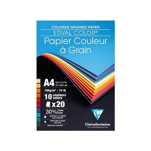 Альбом цветной бумаги для рисования и черчения А4 цена