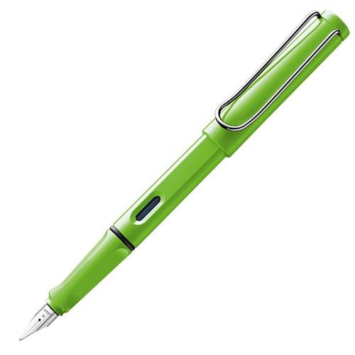 Ручка перьевая 013 Safari, зеленая, EF ручка перьевая 014 safari синяя 0 5 мм