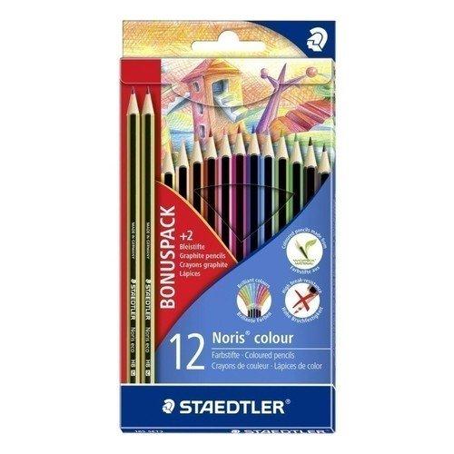 "Набор цветных карандашей ""Wopex"", 12 цветов"