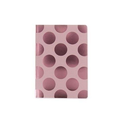 Блокнот Shimmer А5, в линейку, розовый горох блокнот shimmer а6 кремовый горох