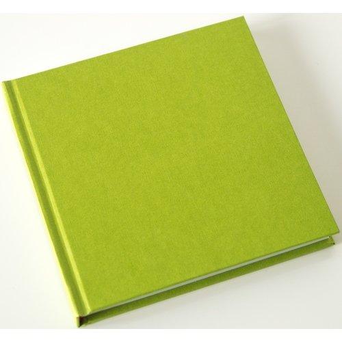 Скетчбук, 80 листов, 120 г/м2, 15 х 15 см, салатовый
