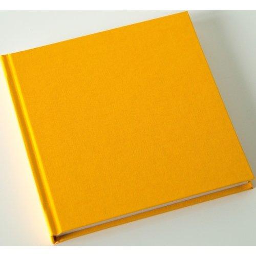 Скетчбук, 80 листов, 120 г/м2, 15 х 15 см, кукурузно-желтый