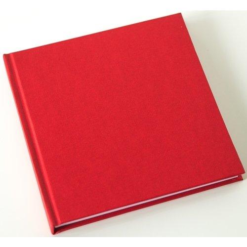 Скетчбук, 80 листов, 120 г/м2, 15 х 15 см, английский красный