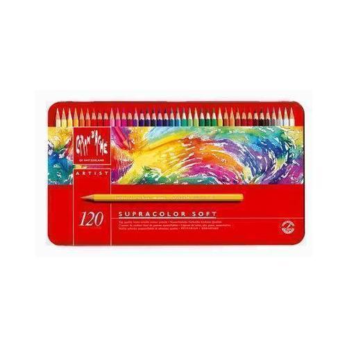 Карандаши цветные Supracolor, 120 цветов карандаши цветные сибирский кедр веселые карандаши 12 цветов в блистере ск039 12