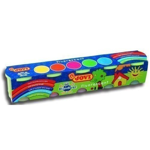 Мягкая игровая паста для моделирования, флюоресцентная, 5 цветов