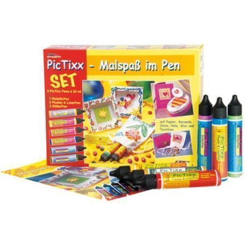Набор аппликаторов для объемных линий PicTixx, 6 цветов цена