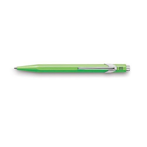 Ручка шариковая Office Popline, зеленая ручка шариковая carandache office infinite 888 253 gb swiss cross m синие чернила подар кор