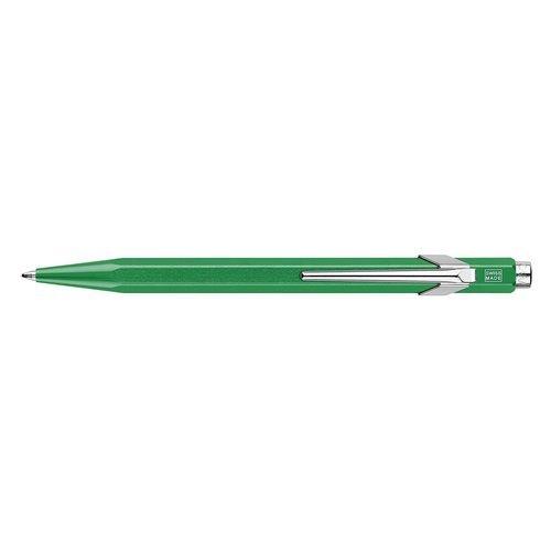 "Ручка шариковая ""Office Popline Metal-X"", зеленая"