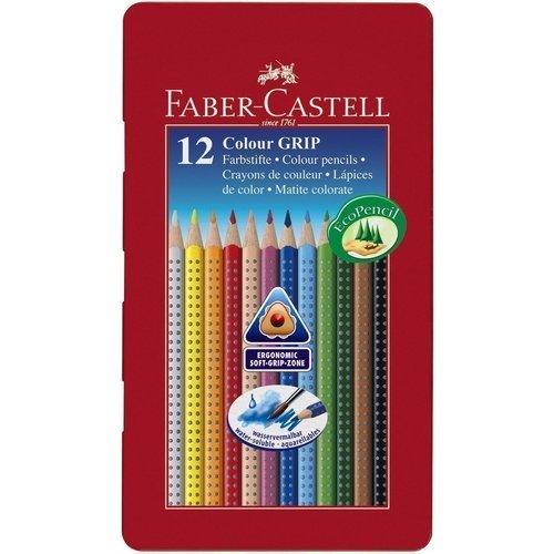 Карандаши цветные Grip 2001, 12 цветов карандаши цветные grip 2001 12 цветов